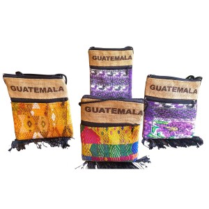 Guatemala bags with jute