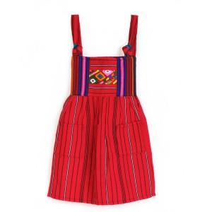 Robes pour Fille Bordé de Coton
