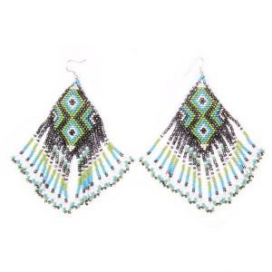 Silvery Earrings