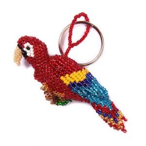 Macaw Keychain