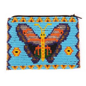 Porte-monnaie avec Papillon