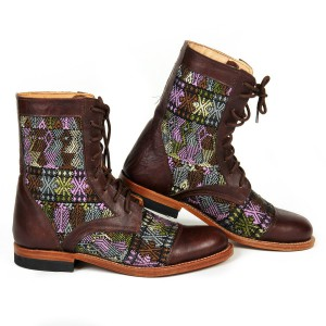 Multicolor Booties