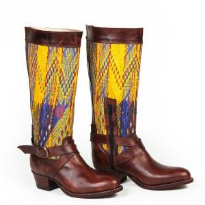 Botas Amarillas con Cincho