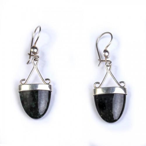 Jade Boat Earrings
